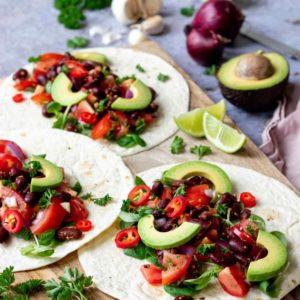 Zonderzooi | Wakker Dier | Eet geen dierendag | Wraps met bonen en salsa